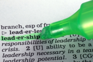 Leadership in dictionary