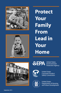 Lead Based Paint Brochure